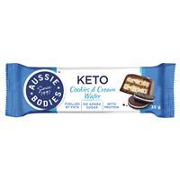 Aussie Bodies Keto Wafer Cookie & Cream 35g