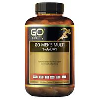 Go Healthy Mens Multi 1-A-Day 120 Vege Capsules Exclusive Size