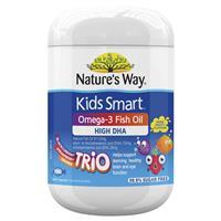 Natures Way Kids Smart Omega-3 Fish Oil Trio 180 Capsules