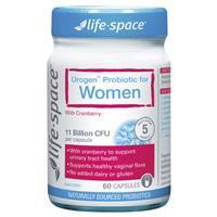 Life SpaceUrogen ProbioticFor Women 60 Capsules