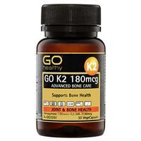 GO Healthy K2 180mcg 30 Vege Capsules