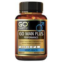 GO Healthy GO Man Plus Performance 60 Vege Capsules