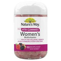 Nature's Way Vita Gummies Adult Womens Multivitamin 100