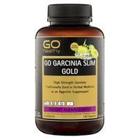 GO Healthy Slim Garcinia Gold 120 Capsules