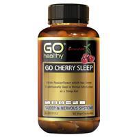 GO Healthy Cherry Sleep 90 Vege Capsules