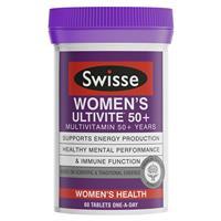 Swisse Women's Ultivite 50+ Multivitamin