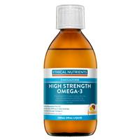 Ethical Nutrients High Strength Omega-3 Liquid (Fruit Punch) 280ml