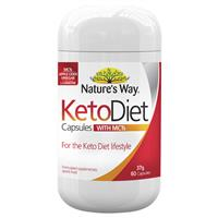 Nature's Way Keto Diet with MCTs 60 Capsules