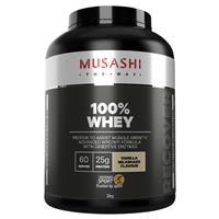 Musashi 100% Whey Vanilla 2kg