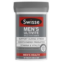 Swisse Men's Ultivite Multivitamin 60 Tablets