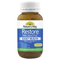 Nature's Way Restore Daily Probiotic 90 Capsules