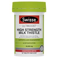 Swisse Milk Thistle 60 Tablets