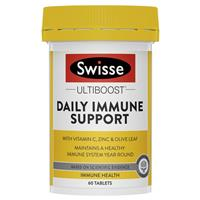 Swisse Daily Immune Support 60 Tablets