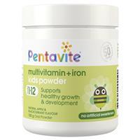 Pentavite Multivitamin + Iron Kids Powder 100g