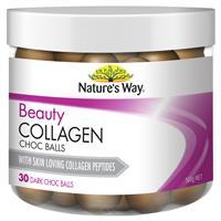 Nature's Way Beauty Collagen 30 Dark Choc Balls