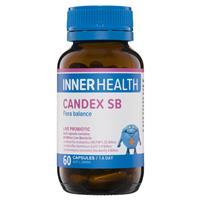 Inner Health Candex SB 60 Capsules