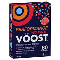 Voost Vitamin B+ Performance Effervescent 60 Pack Exclusive Size