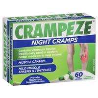 Crampeze Night Cramps 60 Capsules