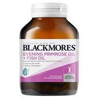 Blackmores Evening Primrose Oil + Fish Oil 1000mg 100 Capsules