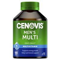 Cenovis Men's Multi – Once-Daily Multivitamin – 100 Capsules