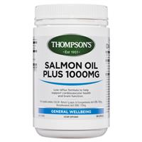 Thompsons Salmon Oil Plus 1000mg 500 Capsules