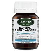 Thompson's Natural Super Carotene 60 Capsules