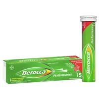 Berocca Energy Vitamin Original Berry Effervescent Tablets 15 pack