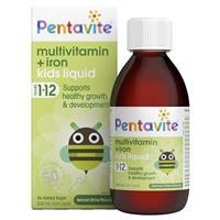 Penta-Vite Oral Liquid Multivitamins with Iron 200mL