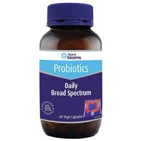 Henry Blooms Adults Daily Broad Spectrum Probiotic 60 Capsules