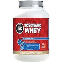 INC 100 Dynamic Whey Cookies and Cream Flavour 2kg