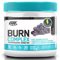 Optimum Nutrition Burn Complex Caffeinated Grape 30 Serve 150g Online Only