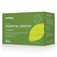 Melrose Essential Greens + Vitamin C 30 x 3g