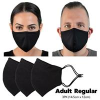 HPE Reusable Face Mask Adult Regular 3 Pack