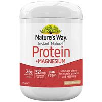Nature's Way Instant Natural Protein + Magnesium 375g