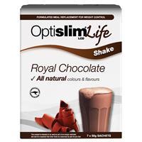 OptiSlim Life Shake Royal Chocolate 50g x 7