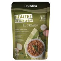 Optislim Healthy Option Meal Beef Stroganoff 300g