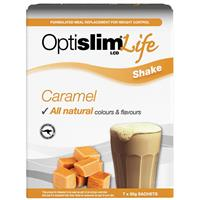 OptiSlim Life Shake Caramel 50g x 7