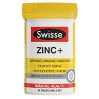 Swisse Ultiboost Zinc+ 60 Tablets
