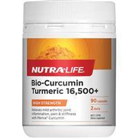 Nutra-Life Bio-Curcumin 16500+ 90 Capsules Exclusive Size