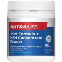 Nutra-Life Glucosamine Chondroitin Msm Joint Food 300g Powder