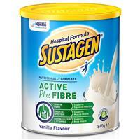 Sustagen Hospital Active + Fibre 840g Vanilla