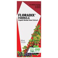 Floradix Formula Liquid Herbal Iron Extract 250ml