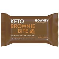 IsoWhey Keto Brownie Bite Chocolate 33g Single