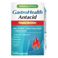 Naturopathica Gastrohealth Antacid Triple Action 30 Capsules