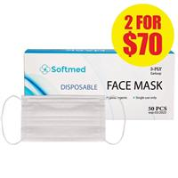 Softmed Face Masks 50 Pack – New low Price