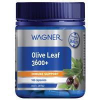 Wagner Olive Leaf 3600+ 100 Capsules