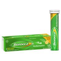 Berocca Energy Vitamin Mango & Orange Effervescent Tablets 15 pack