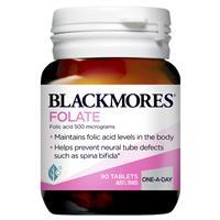 Blackmores Folate 500mcg 90 Tablets