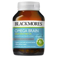 Blackmores Omega Brain Health 60 Capsules