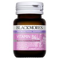 Blackmores PMS Support Vitamin B6 240mg 42 Tablets